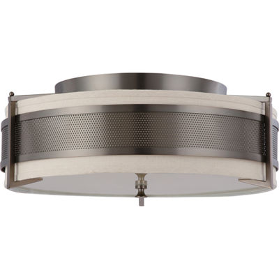 Filament Design 4-Light Hazel Bronze Flush Mount