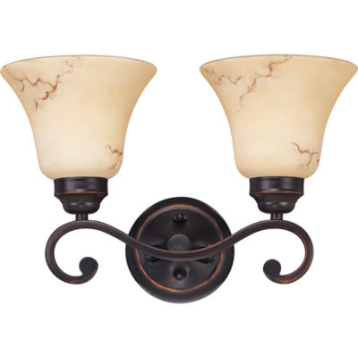Filament Design 2-Light Copper Espresso Bath Vanity