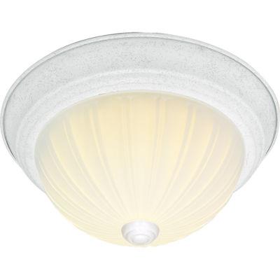 Filament Design 3-Light White Flush Mount