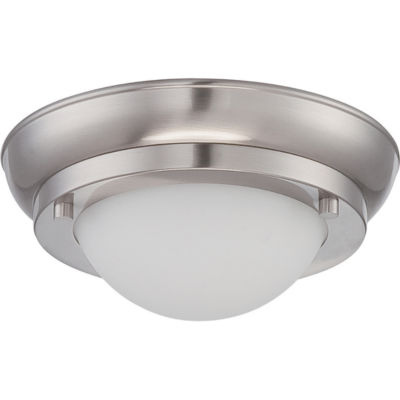 Filament Design 1-Light White Flush Mount