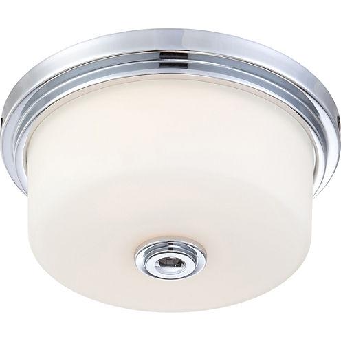 Filament Design 2-Light Polished Chrome Flush Mount