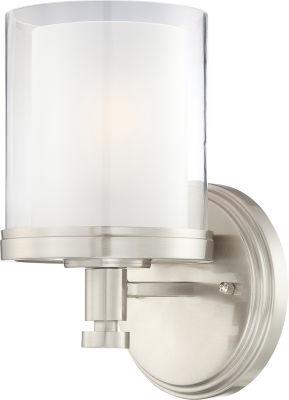 Filament Design 1-Light Brushed Nickel Bath Vanity