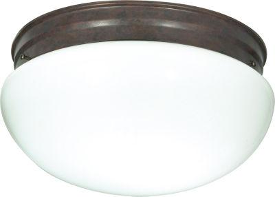 Filament Design 2-Light Old Bronze Flush Mount
