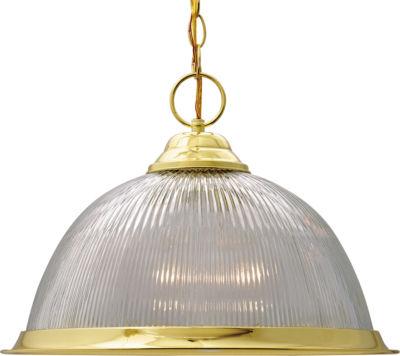 Filament Design 1-Light Polished Brass Pendant