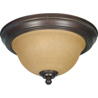 Filament Design 2-Light Sonoma Bronze Flush Mount