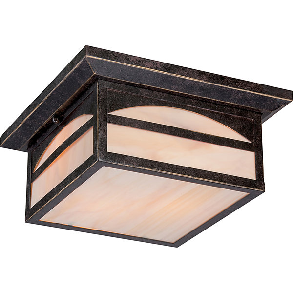 Filament Design 2-Light Umber Bronze Outdoor FlushMount
