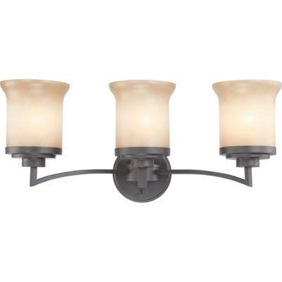 Filament Design 3-Light Dark Chocolate Bronze BathVanity