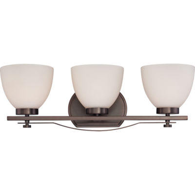 Filament Design 3-Light Hazel Bronze Bath Vanity