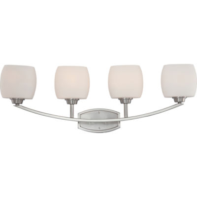 Filament Design 4-Light Brushed Nickel Bath Vanity