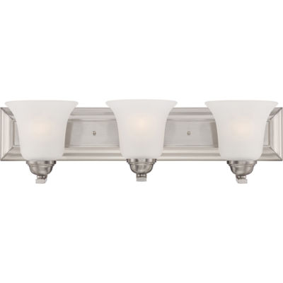 Filament Design 3-Light Brushed Nickel Bath Vanity