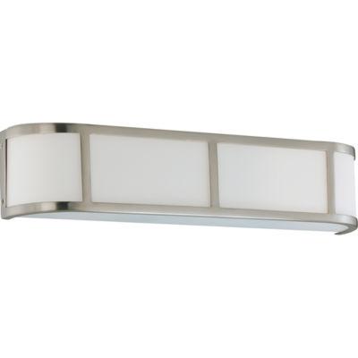 Filament Design 3-Light Brushed Nickel Bath Vanity