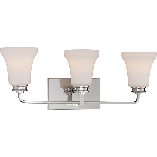 Filament Design 3-Light Polished Nickel Bath Vanity