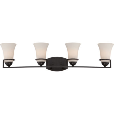 Jcpenney Vanity Lights : Filament Design 4-Light Sudbury Bronze Bath Vanity - JCPenney