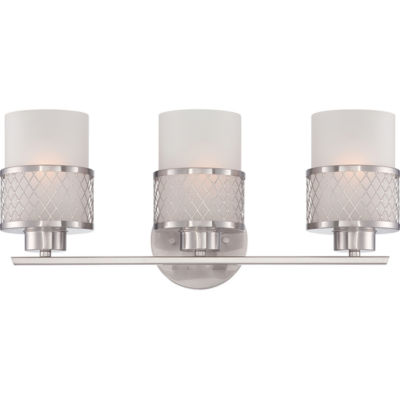 Jcpenney Vanity Lights : Filament Design 3-Light Brushed Nickel Bath Vanity - JCPenney