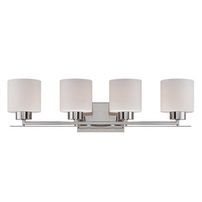 Filament Design 4-Light Polished Nickel Bath Vanity
