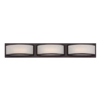 Filament Design 3-Light Georgetown Bronze Bath Vanity