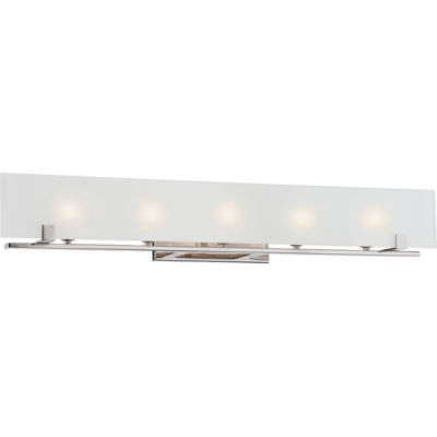 Filament Design 5-Light Polished Nickel Bath Vanity