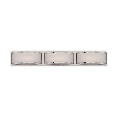 Filament Design 3-Light Polished Nickel Bath Vanity