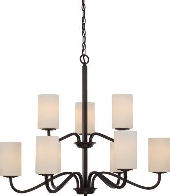 Filament Design 9-Light Forest Bronze Chandelier