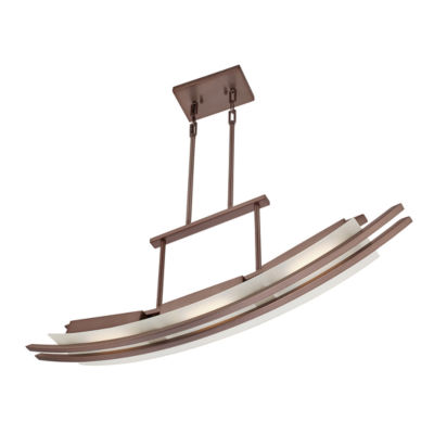 Filament Design 3-Light Hazel Bronze Pendant Island Pendant