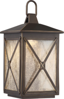 Filament Design 1-Light Umber Bay Outdoor Wall Sconce