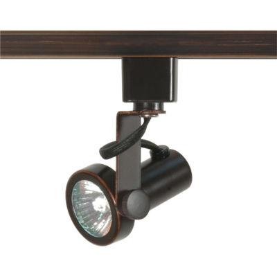 Filament Design 1-Light Russet Bronze Track Lighting Track Head