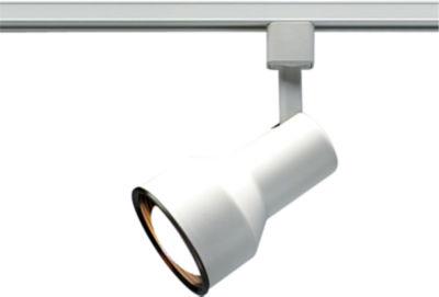 Filament Design 1-Light White Track Lighting TrackHead