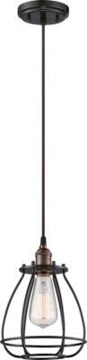 Filament Design 1-Light Rustic Bronze Pendant