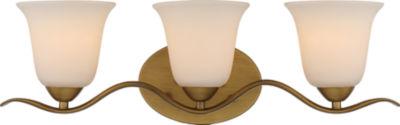 Filament Design 3-Light Natural Brass Bath Vanity