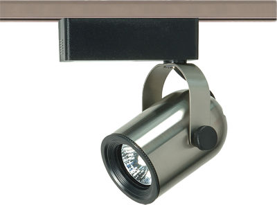 Filament Design 1-Light Brushed Nickel Track Lighting Track Head