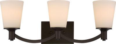 Filament Design 3-Light Forest Bronze Bath Vanity
