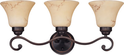 Jcpenney Vanity Lights : Filament Design 3-Light Copper Espresso Bath Vanity - JCPenney