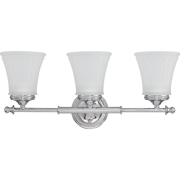 Filament Design 3-Light Polished Chrome Bath Vanity