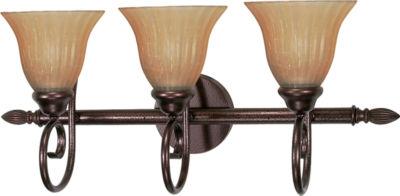 Filament Design 3-Light Copper Bronze Bath Vanity