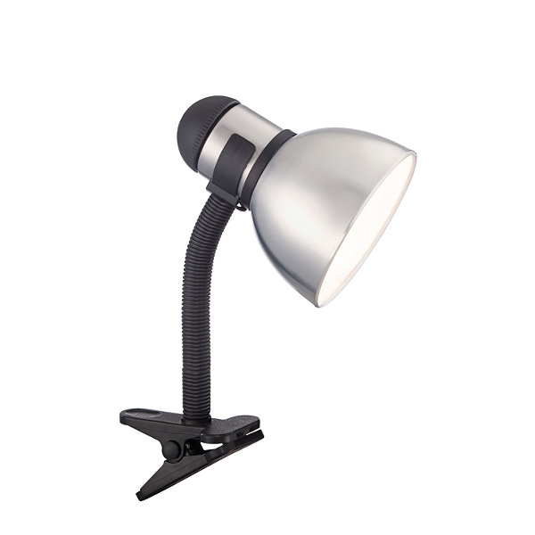 Filament Design 1-Light Black Steel Desk Lamp