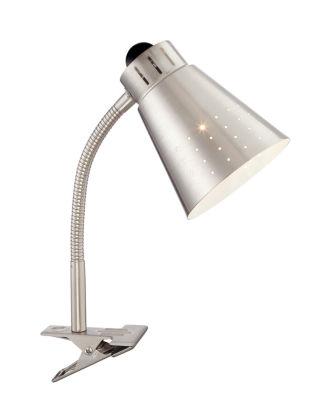Filament Design 1-Light Brushed Nickel Desk Lamp