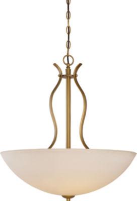 Filament Design 4-Light Natural Brass Pendant