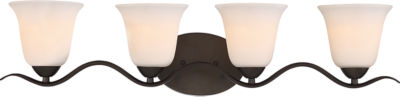 Filament Design 4-Light Forest Bronze Bath Vanity