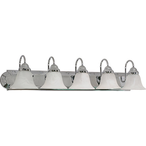 Filament Design 5-Light Polished Chrome Bath Vanity