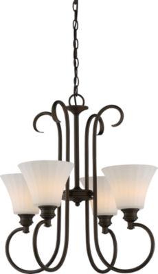 Filament Design 4-Light Aged Bronze Pendant