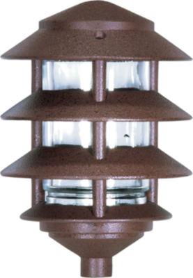 Filament Design 1-Light Old Bronze Outdoor Post Light