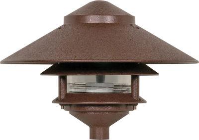 Filament Design 1-Light Green Outdoor Post Light