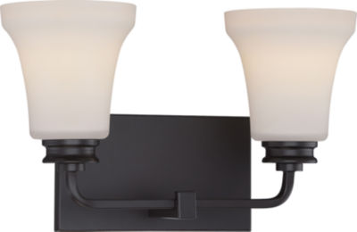 Jcpenney Vanity Lights : Filament Design 2-Light Mahogany Bronze Bath Vanity - JCPenney