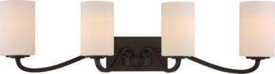 Filament Design 4-Light Forest Bronze Bath Vanity