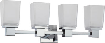 Filament Design 4-Light Polished Chrome Bath Vanity