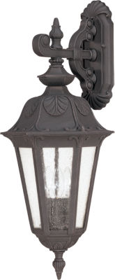 Filament Design 3-Light Satin Iron Ore Outdoor Wall Sconce