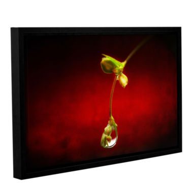 Brushstone Brushstone Tears in the Rain Gallery Wrapped Floater-Framed Canvas Wall Art