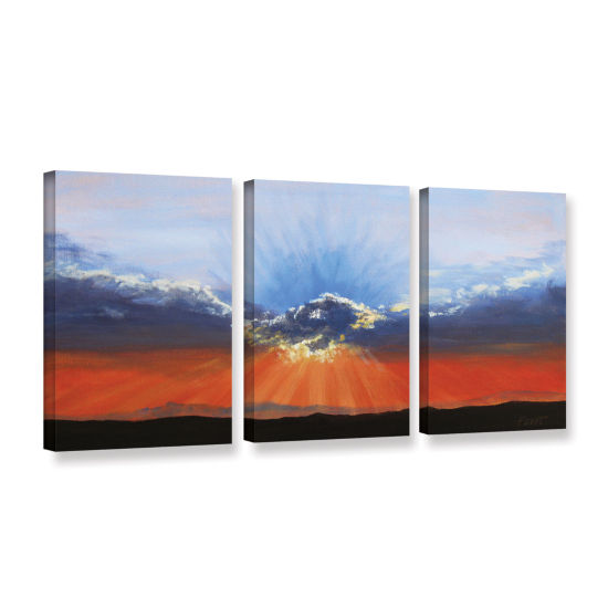 Brushstone Dream on a Dreamer 3-pc. Gallery Wrapped Canvas Wall Art