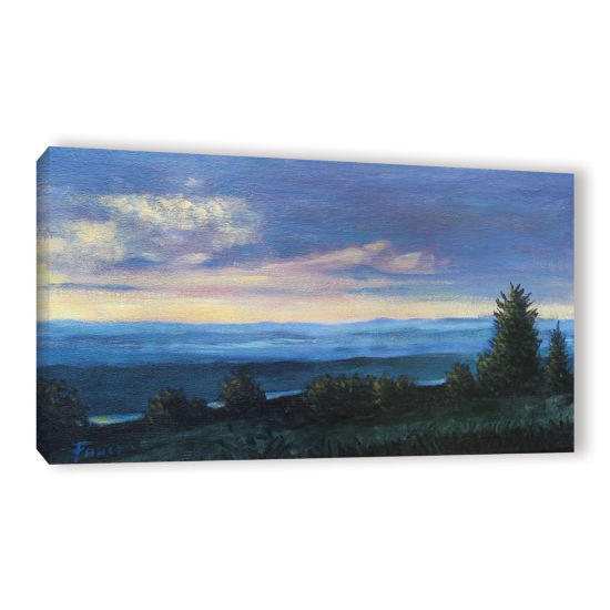 Brushstone Brushstone Hillside Gallery Wrapped Canvas Wall Art