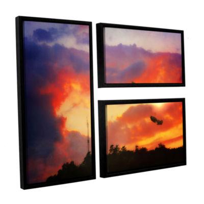 Brushstone Brushstone Eve of War 3-pc. Floater Framed Canvas Wall Art